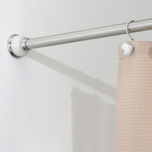 36 Shower Curtain Tension Rod Shower Curtain Rods Long Shower