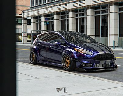 Check Out New Work On My Behance Profile Ford Fiesta Widebody