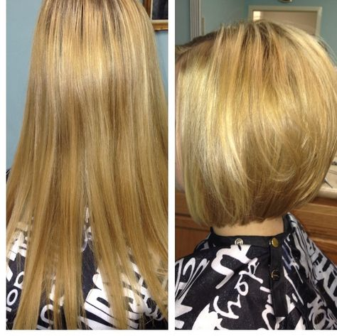 Before And After Ashley Burti At Sidonna And Salon And Spa Wilmington North Carolina 910 790 9799 Hair Beauty Her Hair Beauty