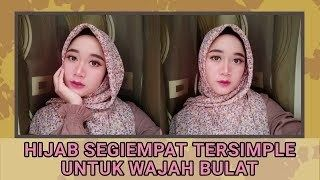 Tutorial Hijab Segi Empat Wajah Bulat Berkacamata Wajah Hijab Kacamata