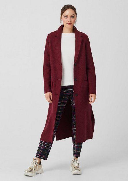 Mantel Wollmantel Damen Mantel Wollmantel