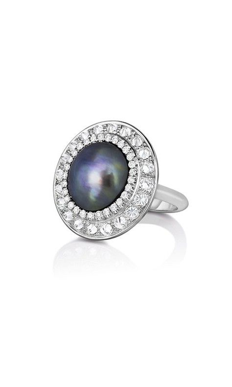 581e6387a0a44 52 Polished Pearl Engagement Rings   Engagement and Wedding Rings ...