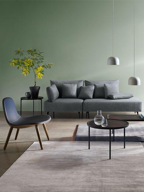 Eva Solo Furniture Collection Ss19 Yoga Sofa Abalone Lounge Chair Savoye Tables
