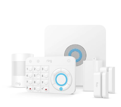 Ring Alarm Security Kit With Motion Door Window Sensors Qvc Com Wireless Home Security Systems Diy Home Security