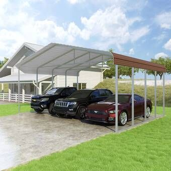Classic 20 Ft X 20 Ft Canopy Steel Carports Canopy Building Systems