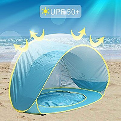 check out 1c0b5 a1515 Amazon.com: Sunba Youth Baby Beach Tent, Baby Pool Tent, UV ...
