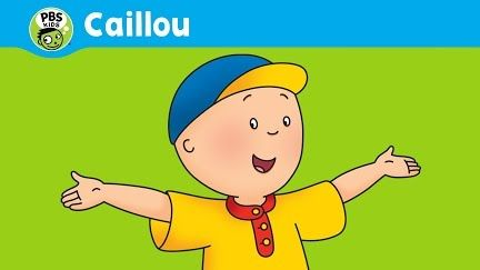 Caillou Theme Song Real Lyrics in English - YouTube