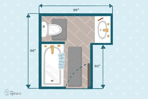 Use These 15 Free Bathroom Floor Plans Small Bathroom Floor Plans Bathroom Floor Plans Master Bathroom Layout