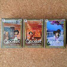 Disney Characters Q posket petit Aladdin Jasmine Megara All 3 types set