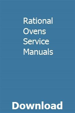 Rational Ovens Service Manuals Repair Manuals Renault Fluence Owners Manuals