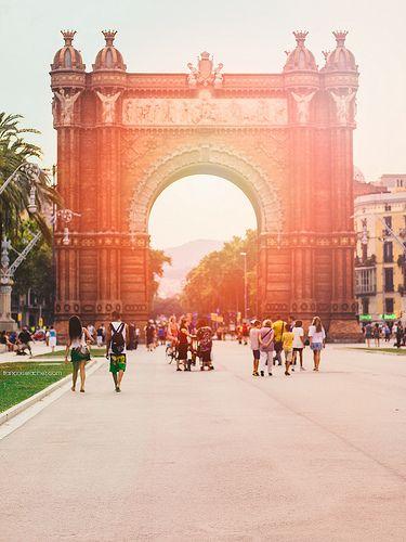 Parc de la Ciutadella. Barcelona, Spain.