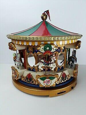 Christmas Carousel Recreation 2020 Vintage Mr.Christmas Carousel Merry Go Around with Original Box