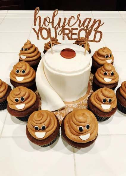 Excellent Birthday Cupcakes For Men Funny Over The Hill 24 Ideas Funny Personalised Birthday Cards Cominlily Jamesorg