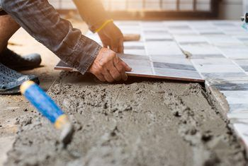 How To Prepare For Laying Tile Over A Concrete Floor In 2020