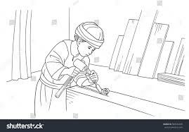 Image Result For Colouring Page Of Jesus In Carpenter S Workshop