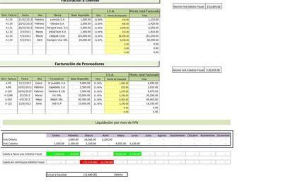 Planilla De Excel Para Liquidación De Iva Planos Liquidacion Informática