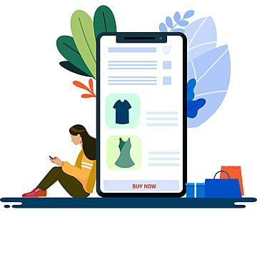 Female Customers Shopping Online Vector Design Internet Clipart Online Shopping App Png And Vector With Transparent Background For Free Download Vector Design Internet Clipart Free Vector Graphics