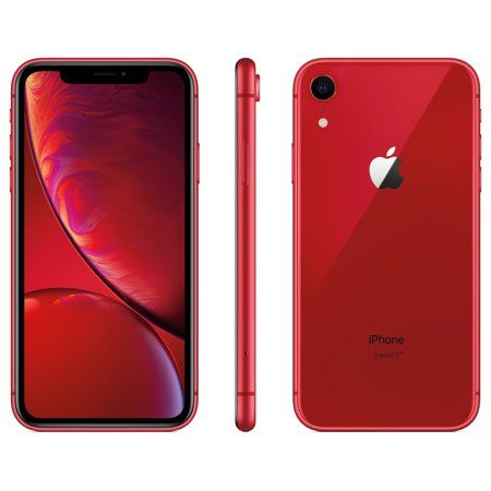 Walmart Family Mobile Apple Iphone Xr W 64gb Red Walmart Com Iphone Apple Iphone Smartphone