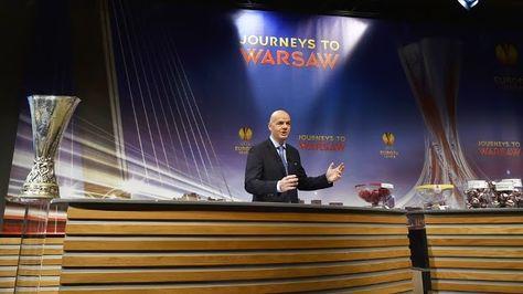 Uefa sorteia duelos da Liga Europa