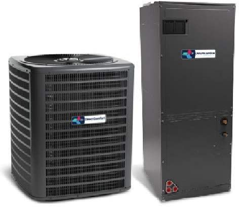 Direct Comfort 3 Ton 14 Seer Air Conditioner Dc Gsx140361 Upflow Downflow Horizontal Air Handler Dc Aruf37c14 In 2020 Air Handler Air Conditioner Btu Superior Homes