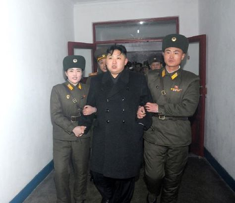 Kim Jong Un under arrest for drug abuse. ;p