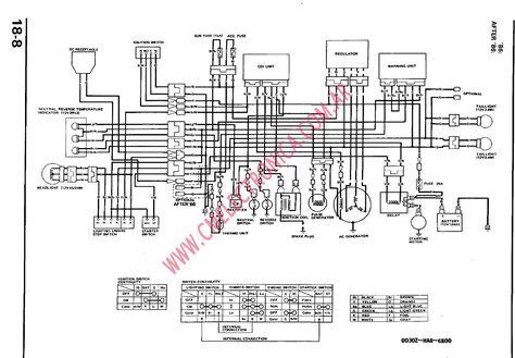 1998 trx 250 fourtrax recon wiring  1993 honda 300ex wiring