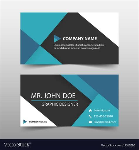Generic Business Card Template Best Template Ideas Free Business Card Templates Company Business Cards Corporate Business Card