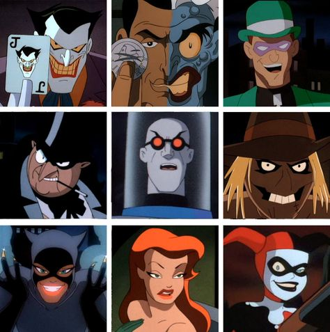 "The Batman I grew up with. This cartoon and the Tim Burton movies will always be ""the real Batman"" to me. Well, along with the Adam West reruns I watched."
