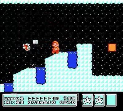 Super Mario Bros 3 Walkthrough World 6 Ice Land Iced Land