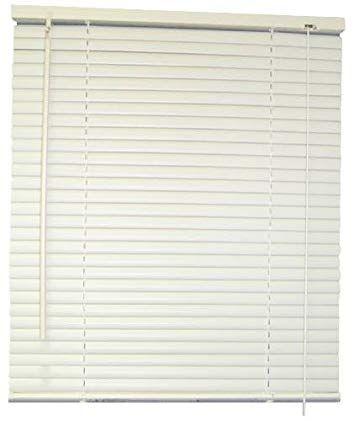 Designer S Touch 1 Inch Vinyl Mini Blinds Alabaster 32x64 In 833162 Review Blinds Shades Blinds Vinyl Mini Blinds