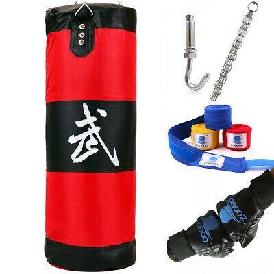 "39/"" Training Fitness MMA Boxing Heavy Sand Punching Bag Training Sandbag Empty"