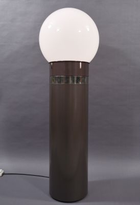 For Sale Golden Floor Lamp By Glashutte Limburg 1960s In 2020 Golden Floor Lamps Floor Lamp Vintage Floor Lamp