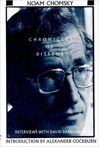 Chronicles of Dissent: Amazon co uk: Noam Chomsky, Alexander