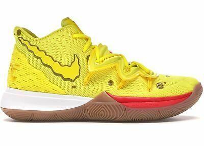 Nike Kyrie 5 Spongebob Squarepants Yellow Size 13.... | Nike ...