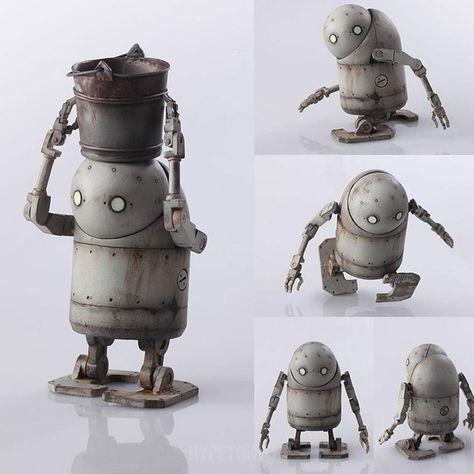The Hermit Resin Figure by Josh Keyes X Toyqube
