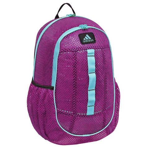 5dab65ef72eb Amazon.com: adidas Hermosa Mesh Backpack, Hyper Green/Flash Red-Pink, One  Size: Clothing