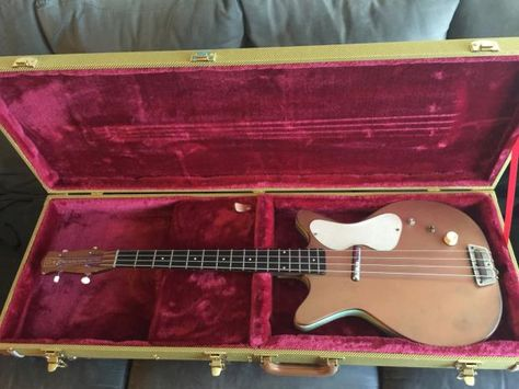 Danelectro Shorthorn Bass 3412 1959 Copper | Reverb