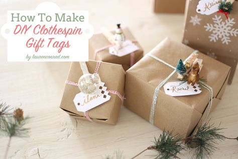 Add a personal touch to your gift wrapping with this DIY!