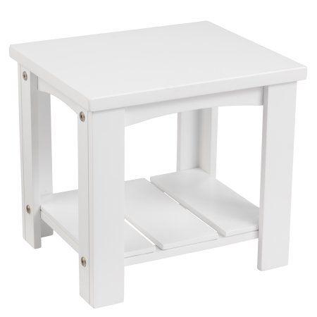 Best Kidkraft Addison Toddler Side Table White Toddler 400 x 300