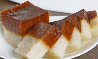 Kue Talam Singkong Resep Hidangan Penutup Makanan