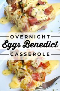 Overnight Eggs Benedict Casserole from The Food Charlatan. Eggs Benedict Casserole (Overnight Casserole) – The Food Charlatan Eggs Benedict Casserole, Easy Eggs Benedict, Eggs Benedict Recipe, Egg Casserole, Breakfast Dishes, Breakfast Time, Breakfast Recipes, Egg Dishes For Brunch, Recipes