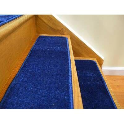 Tucker Murphy Pet Baynes Diamond Non Slip Rubber Backed Stair   Wayfair Stair Tread Rugs   Astoria Grand   Beige Carpet   Lis Living   Bullnose Carpet   Non Slip Stair