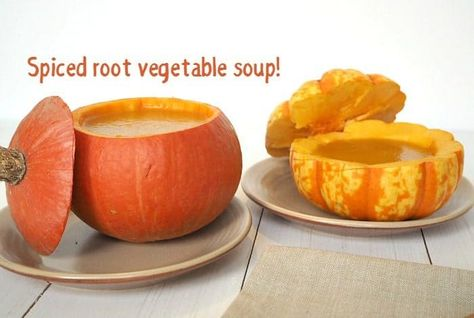 Spiced root vegetable soup - just what you need to warm you up.... | The Diary of a Frugal Family