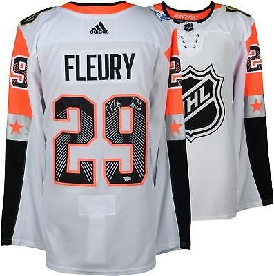 wholesale dealer ff00f 100bd Autographed Marc-Andre Fleury Golden Knights Jersey Item ...