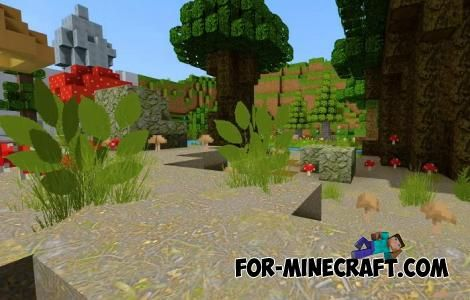 Realistico Texture Pack For Minecraft Bedrock 1 16 In 2021 Texture Packs Minecraft Designs Bedrock