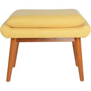 Modern Upholstered Wood Accent Stools Allmodern Vanity Stool Vanity Upholstered Bench Bedroom
