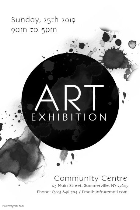 Art Exhibition Poster Art Exhibition Posters Exhibition Poster Art Exhibition