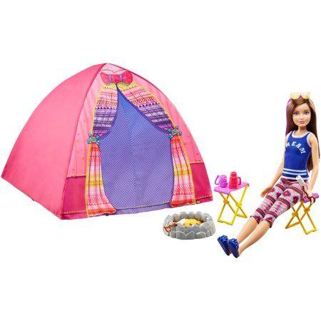 accessoires barbie Camp out tent