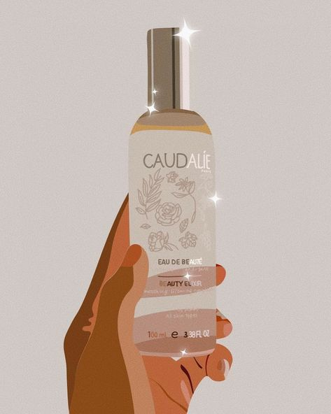 """The Creamglow on Instagram: """"Ordered this beauty by @caudalie ✨ I leave for Nice tomorrow so I needed some small summer goodies! Also, how clean and gorg is this shot 😍…"""""""