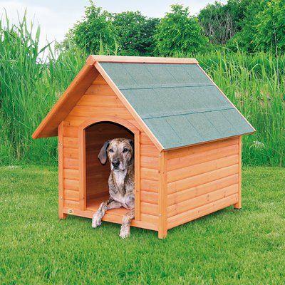 Archie Oscar Griselda Log Cabin Dog House Cool Dog Houses Dog